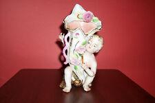 Porcelain boy vase
