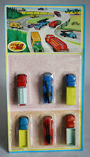 VERY RARE 70'S JOY TOY No 107 SET TRUCKS CRANES #2 MADE IN GREECE NEW MOSC !