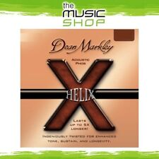 New 3x Pack Dean Markley 2086 Helix Phos Acoustic Guitar Strings - Light 11-52