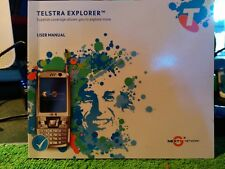 Telstra Explorer Mobile Phone User Guide Original Manual New