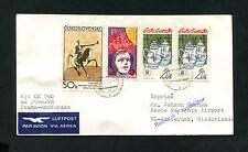 Luftpost Prag - Amsterdam am 29.4.1978 mit KLM   (FP-61)