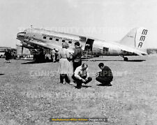 """MMA DOUGLAS DC-3 OUTBACK STOP DC3 20"""" x 16"""" POSTER PRINT PICTURE PHOTO IMAGE"""