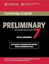 PET Practice Tests: Cambridge English Preliminary 7 Student's Book with...