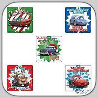 Disney Cars Stickers x 5 - Lightning McQueen Christmas/Santa Stocking Mater Loot