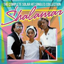 Shalamar-The complete solar Hit Singles Collection 2 CD NUOVO