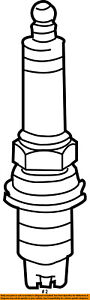 FORD OEM Ignition-Spark Plug AGSF22F1M
