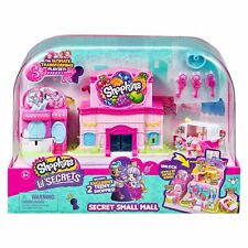 Shopkins Lil' Secrets SECRET SMALL MALL Multi Level Playset w/ Grocery Store...