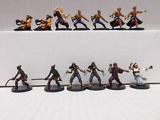 Dungeons and Dragons Miniatures  MONKS LOT - 13 D&D/Pathfinder Minis