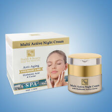 Multi Active Night Cream With Hyaluronic Acid & Caviar Extract H&B Dead Sea 50ml
