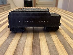 lionel post war tender 2466WX W whistle - Tested! 🔥🔥🔥