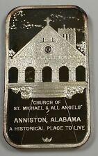 .999 1 oz Fine Silver Bar 75th Anniversary of Coca-Cola Anniston, AL Edition