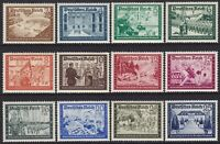 Stamp Germany Mi 702-13 Sc B148-59 1939 WWII Fellowship Empire Empire Post MH