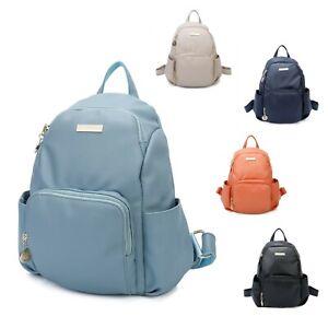 Smart Design Anti-theft Backpack Back bag Woman Girl S-Medium Faux Leather Bag