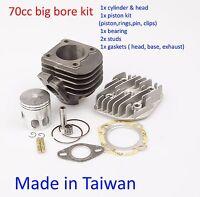 cylinder piston kit 70cc for Yamaha BeeWee 50 BWS 50 YW50  Horizontal engine