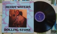 Muddy Waters LP Rolling Stone - Chess Blues VG+/M-