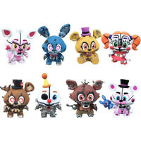 Five Nights At Freddys Bonnie Foxy 8PCS Action Figure Kids Toy Doll Gift 2~2.5in