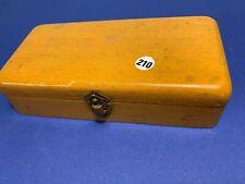 ancienne boite de poids de précision allant de 1 à 100grs  -   lot 210