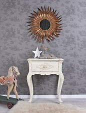 Console White Wall Side Table Shabby Chic Night Antique