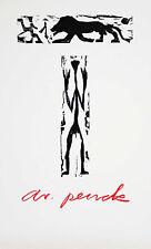 A. R. PENCK / SELTENER PLAKATENTWURF