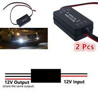 2 x12V Alternating Left / Right LED Light Strobe Flash Module Box For Fog Lights