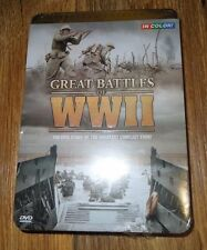 Great Battles of WWII (DVD, 2011, 3-Disc Set, Tin Case) *****BRAND NEW*****