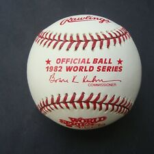 1982 Official Rawlings  World Series Baseball St. Louis Cardinals