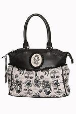 Banned Apparel 'Calais' Vintage Retro Victorian Octupus Design Shoulder Bag