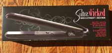 "Sultra The Wicked Wave & Straight Flat Iron 1""  Straightening - NEW In Box"