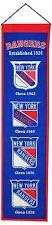 New York Rangers Heritage Banner Wool