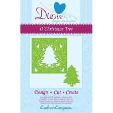 die'sire from crafters companion - create a card - o christmas tree
