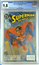 Superman the Man of Steel 1 CGC 9.8