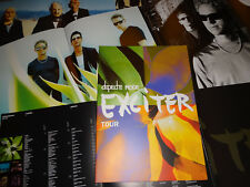 DEPECHE MODE Exciter tourbook 2001 Tour Livre Concert Program