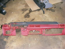 87-93  mustang gt 5.0 red  dash assembly very nice 9 out of 10
