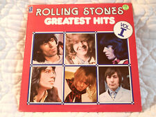 THE ROLLING STONES GREATEST HITS VOL. I VOLUME 1 LP ABKCO CANADIAN PRESSING 1977
