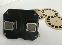 VTG 1940's Sawyers View Master Model C Viewer. Works Great! Comes With 3 Reels.