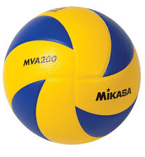 Mikasa Indoor Volleyball Championship Series Game Ball Blue/Yellow MVA200 New