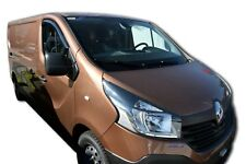 RENAULT TRAFIC 2015-up ADHESIVE WIND DEFLECTORS 2pc TINTED SCOUTT