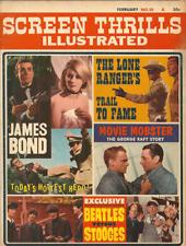 SCREEN THRILLS ILLUSTRATED #10 February 1965 - JAMES BOND, BEATLES, LONE RANGER