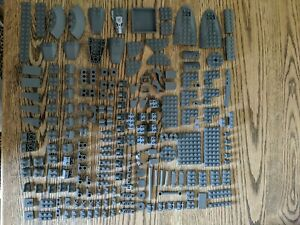 Lego Dark Grey Spare Parts Job Lot Bundle Lot19