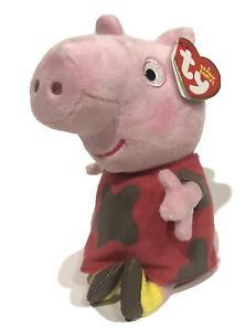 Ty Beanie Babies PEPPA MUDDY New Peppa Pig 2017 Plush Toy Stuffed Animal