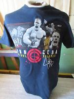 2006 WWE Wrestling Champion John Cena T-Shirt Size Small