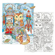 Creative Haven Creative Cats Colouring Book Adults Stress Reliever Secret Garden