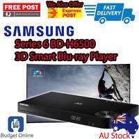Brand New Samsung Smart 3D Blu-Ray DVD Player BD-H6500 Wifi Builtin Free Post