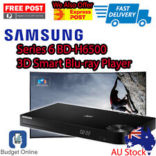 Brand New Samsung Smart 3D Blu-Ray DVD Player BD-H6500 Wifi Builtin Free Post