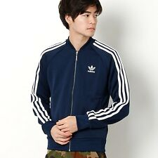 adidas Originals Mens Superstar Track Top Jacket Navy Blue Size M Lf084 CC 12