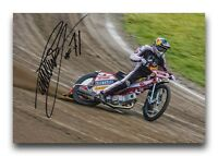 MACIEJ JANOWSKI HAND SIGNED 12X8 PHOTO SPEEDWAY AUTOGRAPH 2.