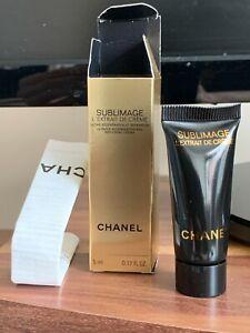 NEW CHANEL SUBLIMAGE L'EXTRAIT DE CREME anti aging cream sample 5 ml, 0.17 fl.oz