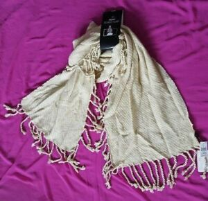 D&Y Oblong Blanket Scarf Style TSFW17814 100% Acrylic One Size Assorted Colors