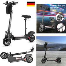 10 Zoll E-Scooter Scooter Elektroroller Roller mit Sitz Klapproller 600W 40km/h