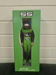 V8 Supercars David Reynolds Statue Figure Collectable Signed Bottle O Ford #55